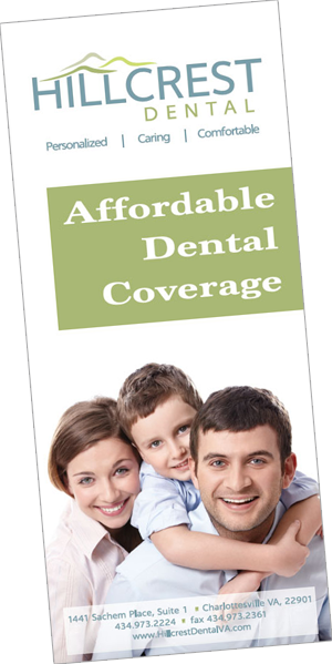 Hooville Family, Uninsured, and Senior Dental Pamphlet.